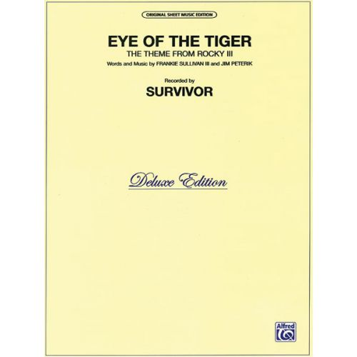 ALFRED PUBLISHING SURVIVOR - EYE OF THE TIGER - PVG
