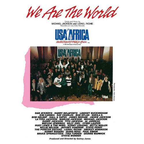 ALFRED PUBLISHING JACKSON M AND RICHIE L - WE ARE THE WORLD - PVG