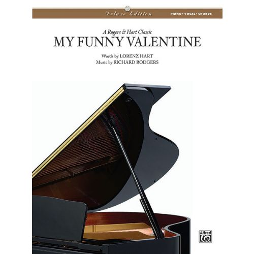 ALFRED PUBLISHING RODGERS R AND HART L - MY FUNNY VALENTINE - PVG