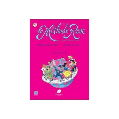 VAN DE VELDE LA METHODE ROSE - PREMIèRE ANNéE DE PIANO (éDITION RéVISéE 2005) + CD