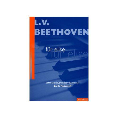 VAN DE VELDE BEETHOVEN LUDWIG VAN - LETTRE A ELISE - PIANO