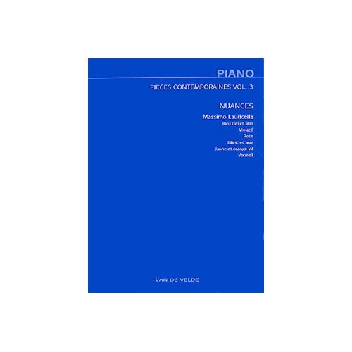 VAN DE VELDE LAURICELLA MASSIMO - NUANCES - PIANO