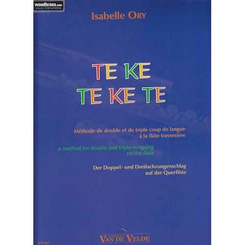 VAN DE VELDE ORY I. - TE KE TE KE TE - FLUTE