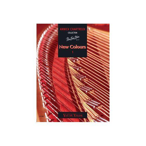 VAN DE VELDE CHARTREUX ANNICK - NEW COLOURS 1 - PIANO