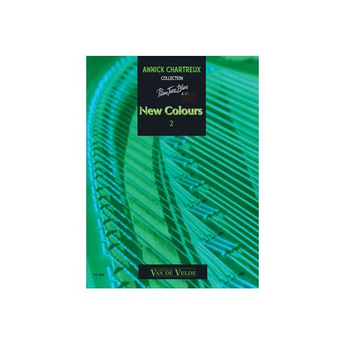 VAN DE VELDE CHARTREUX ANNICK - NEW COLOURS 2 - PIANO