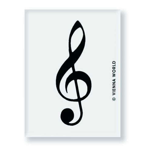 VIENNA WORLD ERASER TREBLE CLEF