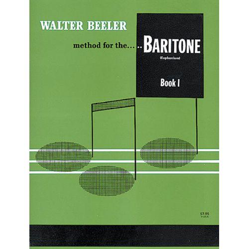 ALFRED PUBLISHING BEELER WALTER - TROMBONE BOOK 1