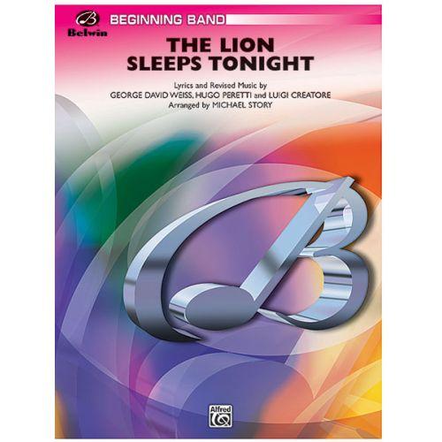 ALFRED PUBLISHING STORY MICHAEL - LION SLEEPS TONIGHT - SYMPHONIC WIND BAND