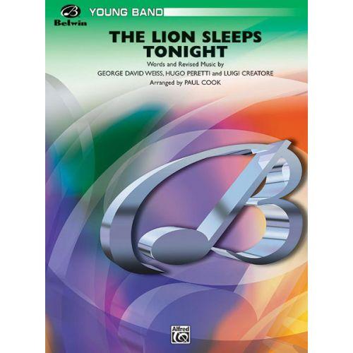 ALFRED PUBLISHING COOK PAUL - LION SLEEPS TONIGHT - SYMPHONIC WIND BAND