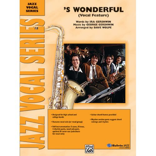 ALFRED PUBLISHING GERSHWIN GEORGE - S WONDERFUL - JAZZ BAND