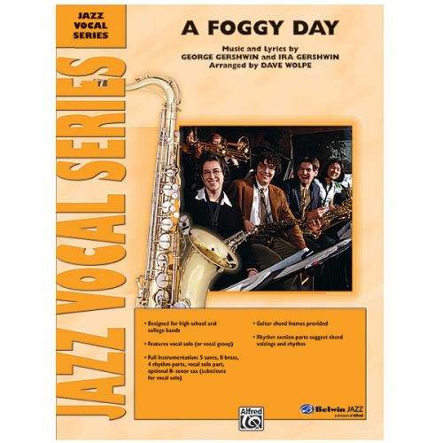 ALFRED PUBLISHING GERSHWIN GEORGE - FOGGY DAY, A - JAZZ BAND