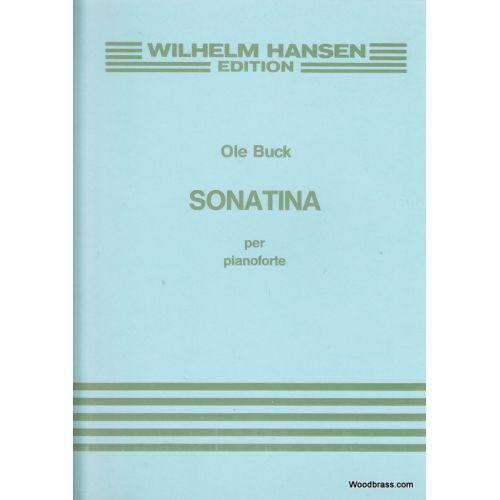 WILHELM HANSEN BUCK OLE - SONATINA PER PIANOFORTE