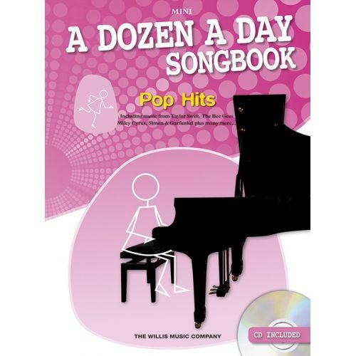 THE WILLIS MUSIC COMPANY A DOZEN A DAY POPS SONGBOOK MINI - PIANO SOLO