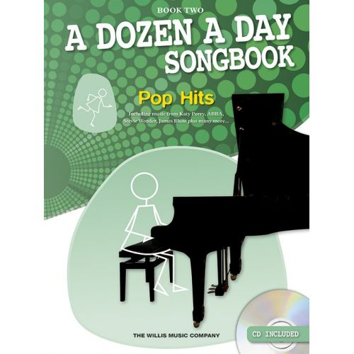 THE WILLIS MUSIC COMPANY A DOZEN A DAY SONGBOOK POPS - PIANO BOOK 2 - PIANO SOLO