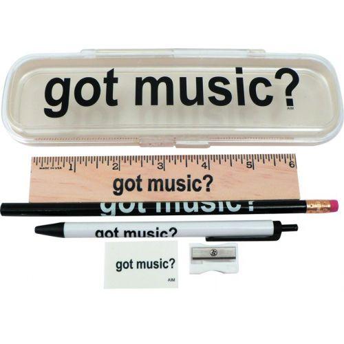 WOODBRASS GOT MUSIC ? PENCIL CASE