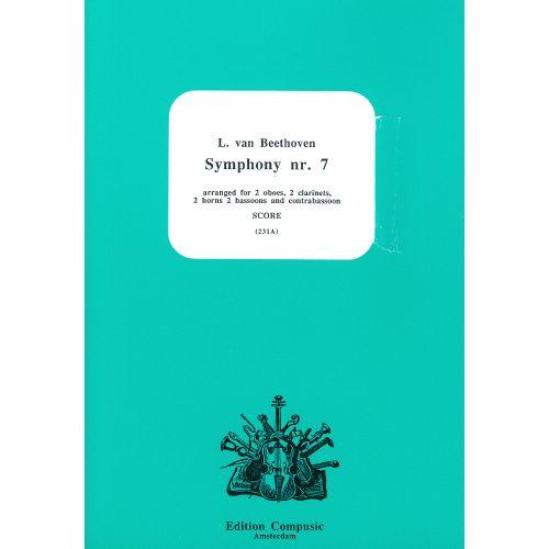 EDITION COMPUSIC - AMSTERDAM BEETHOVEN L. VAN - SEVENTH SYMPHONY - CONDUCTEUR