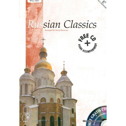 XYZ RUSSIAN CLASSICS - SAXOPHONE (Mib) ET PIANO