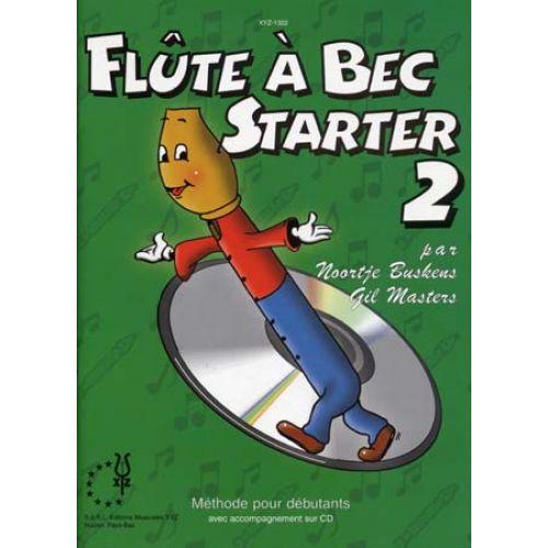 ALSBACH - EDUCA BUSKENS N./MASTERS G. - FLUTE A BEC STARTER VOL.2 + CD