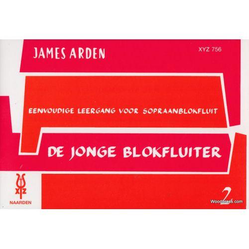 XYZ ARDEN JAMES - DE JONGE BLOKFLUITER VOL.2 - SOPRANO RECORDER