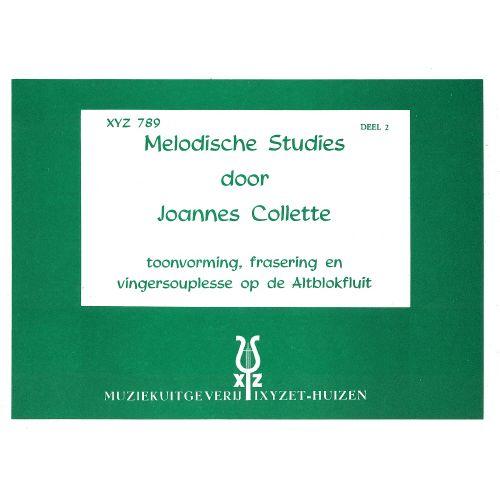 XYZ COLLETTE JOANNES - EIGHT MELODIC STUDIES VOL.2 - RECORDER