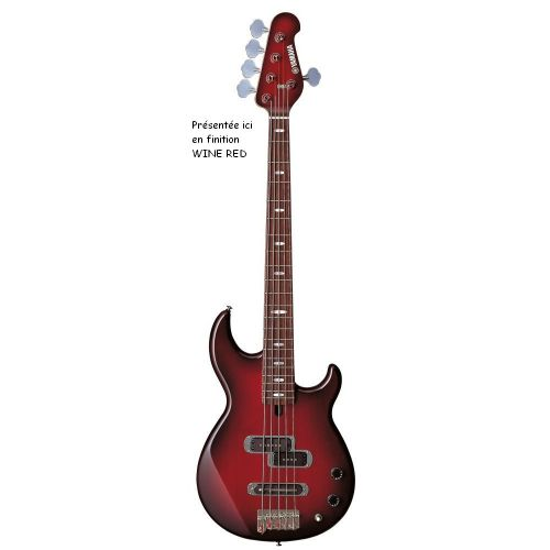 YAMAHA BB415 5STRING ELECTRIC GUITAR RASPBERRY RED