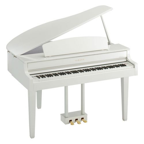 YAMAHA CLAVINOVA CLP 565GP POLISHED WHITE