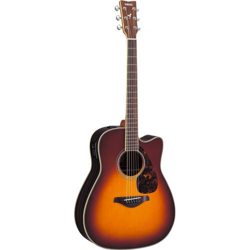 YAMAHA FGX730SCIIBS BROWN SUNBURST
