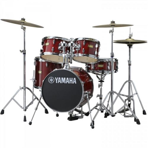 YAMAHA JUNIOR KIT MANU KATCHE - CRANBERRY RED