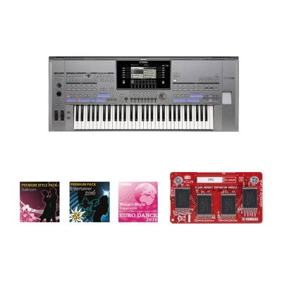 YAMAHA TYROS 5 61 KEYS + GOLD EXPANSION PACK