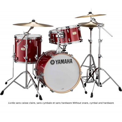 YAMAHA STAGE CUSTOM BIRCH - BOP KIT - CANBERRY RED - (OHNE HARDWARE)
