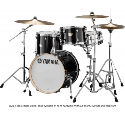 YAMAHA STAGE CUSTOM BIRCH - BOP KIT - RAVEN BLACK - (OHNE HARDWARE)