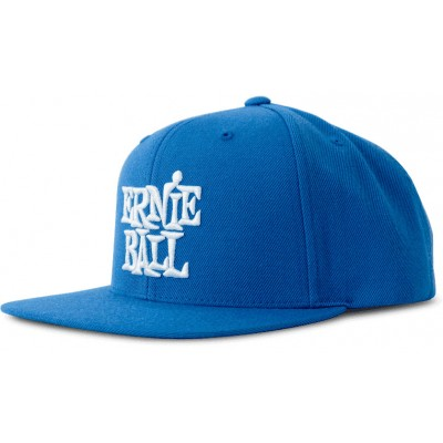 ERNIE BALL BLUE WITH WHITE LOGO HAT