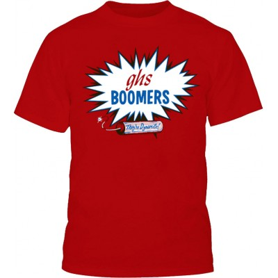 GHS BOOMERS LARGE T-SHIRT
