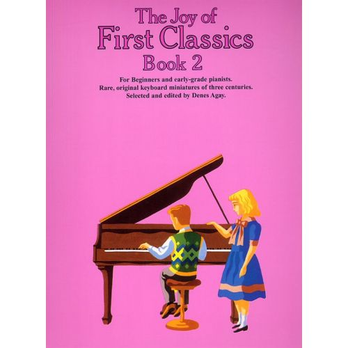 YORKTOWN THE JOY OF FIRST CLASSICS BOOK 2 - PIANO SOLO