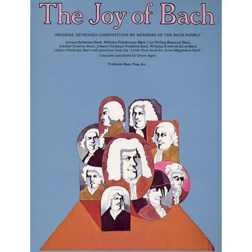 YORKTOWN THE JOY OF BACH - PIANO SOLO