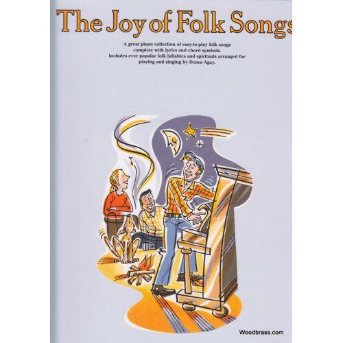 YORKTOWN AGAY D. - THE JOY OF FOLK SONGS - PIANO