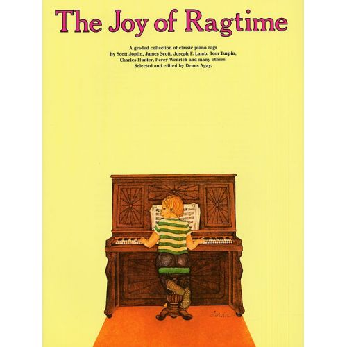YORKTOWN THE JOY OF RAGTIME - PIANO SOLO AND GUITAR