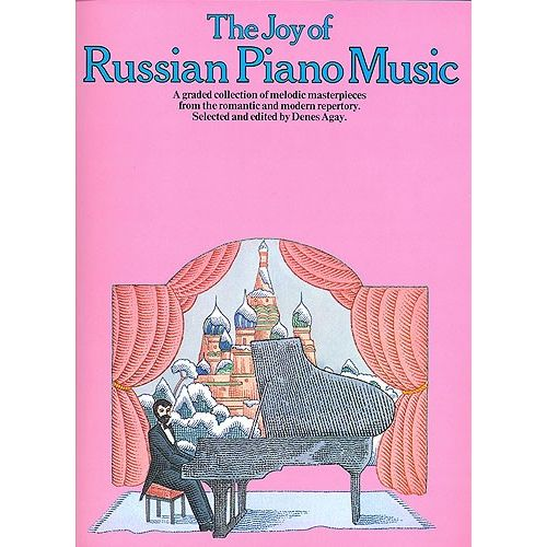 YORKTOWN THE JOY OF RUSSIAN PIANO MUSIC - PIANO SOLO