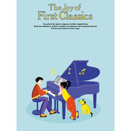YORKTOWN THE JOY OF FIRST CLASSICS BOOK 1 - PIANO SOLO