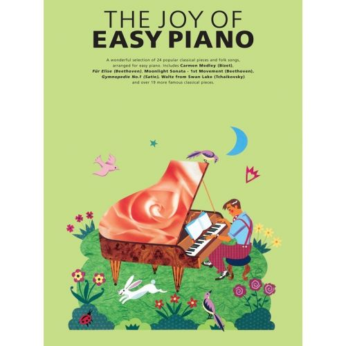 YORKTOWN THE JOY OF EASY REPERTOIRE - PIANO SOLO