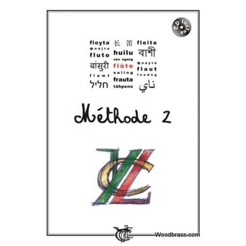 YLC LE CORRE YANN - METHODE DE FLUTE VOL.2 + CD