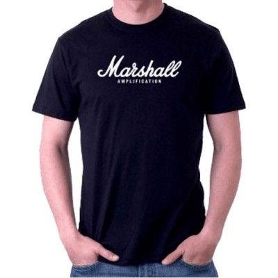 MARSHALL T SHIRT BLACK - XXL