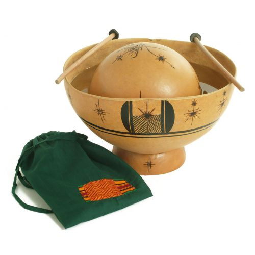 YOMAN MT019 - AFRICAN WATER DRUM WITH BAG AND STICKS