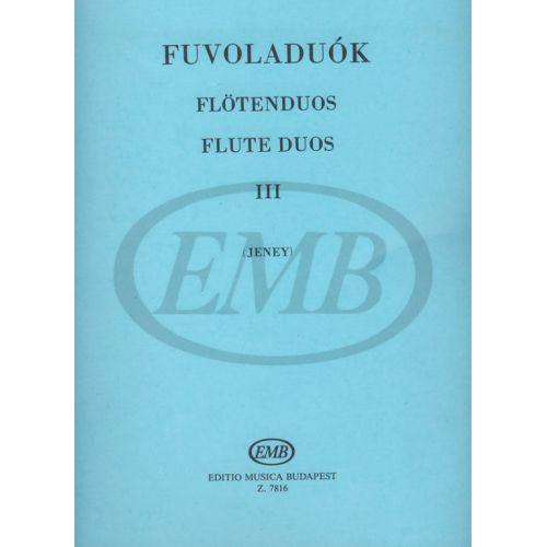 EMB (EDITIO MUSICA BUDAPEST) JENEY ZOLTAN - FLUTE DUOS VOL.3