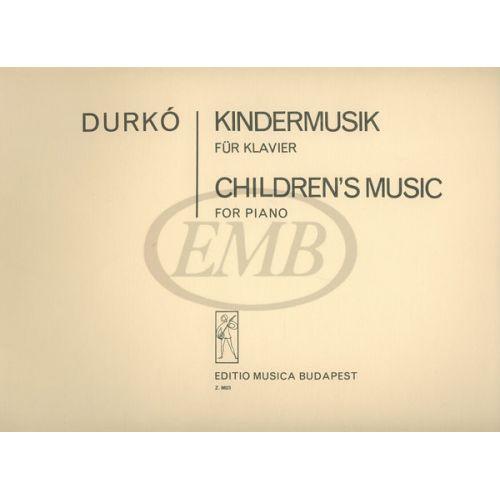 EMB (EDITIO MUSICA BUDAPEST) DURKO - CHILDREN'S MUSIC - PIANO