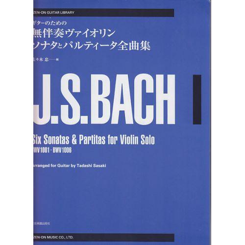 ZEN ON BACH J. S. - SONATAS AND PARTITAS BWV1001-1006 - GUITARE