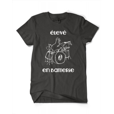 ZE BARNYSHOP T-SHIRT MEN BLACK/WHITE XL