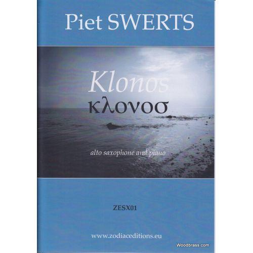 ZODIAC EDITIONS SWERTS PIET - KLONOS - SAX ALTO / PIANO (1993)