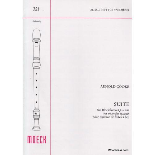 MOECK COOKE A. - SUITE - QUATUOR DE FLÛTES A BEC