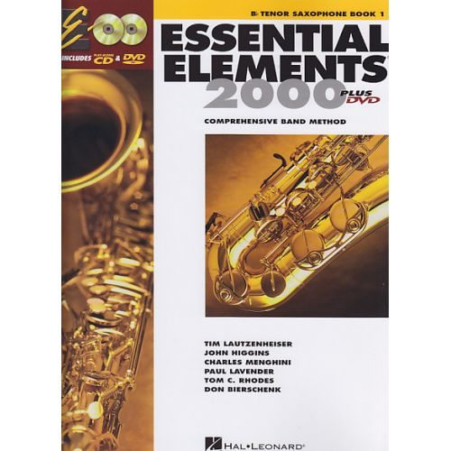 HAL LEONARD ESSENTIAL ELEMENTS 2000 VOL.1 + DVD - SAXOPHONE TENOR